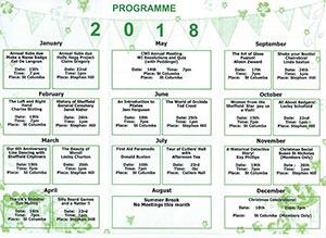 Crosspool WI 2018 programme