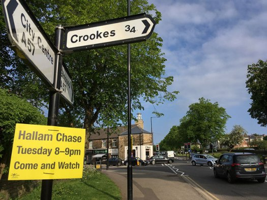Hallam Chase fell race returns to Crosspool on Tuesday 29 May