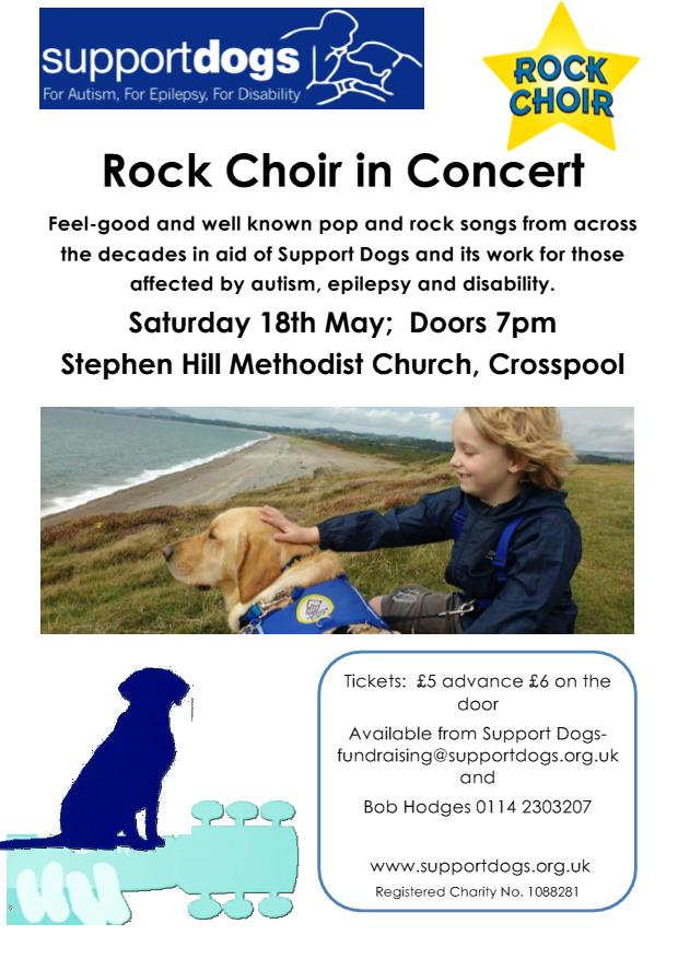 ROCK CHOIR IN CONCERT