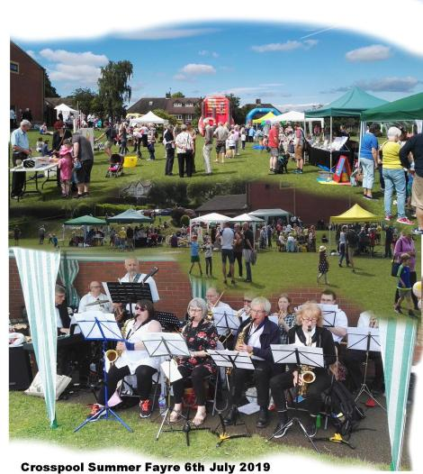2019 summer fayre collage