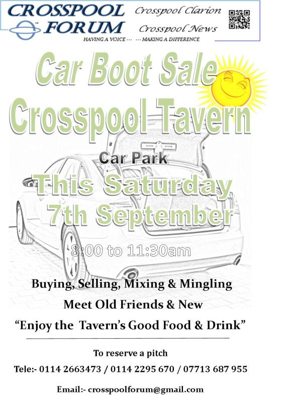 2019 Sept boot sale