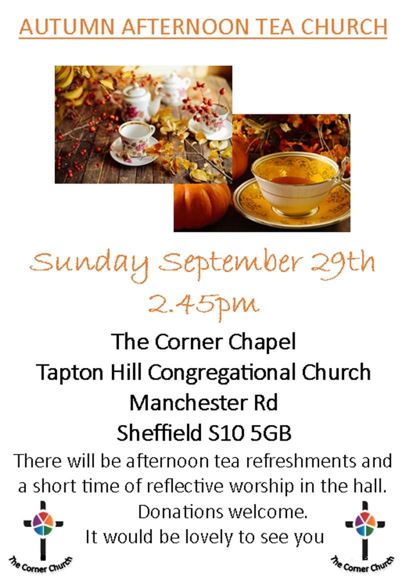 con church Tea
