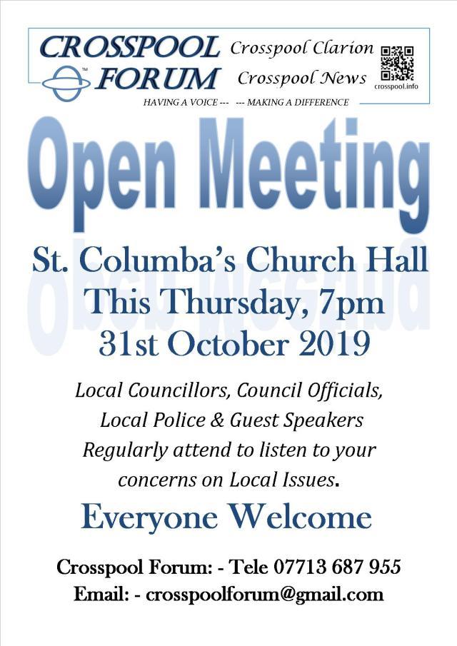 2019 Open Meeting October