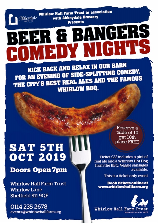 beer and bangers oct 19 flyer