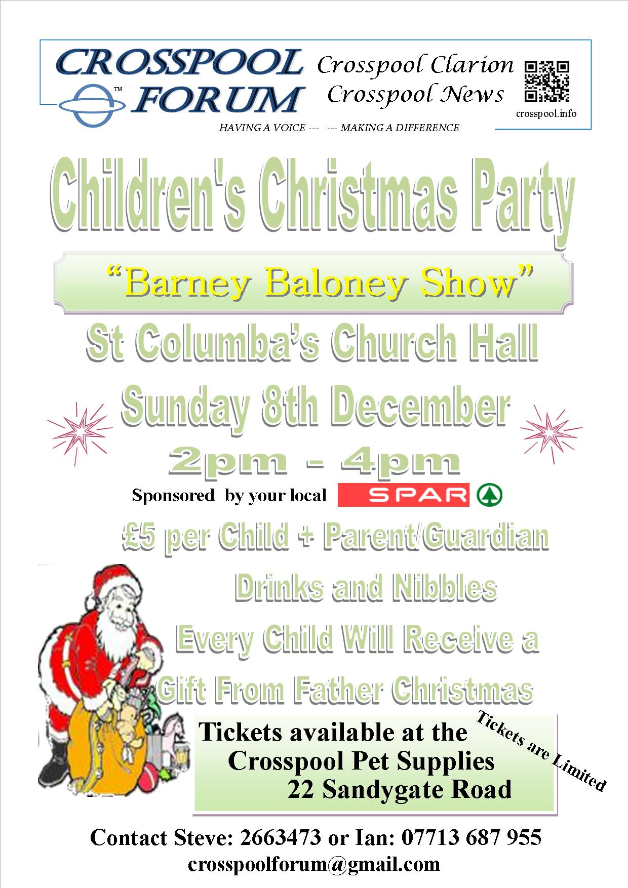 2019 Childrens Christmas Party