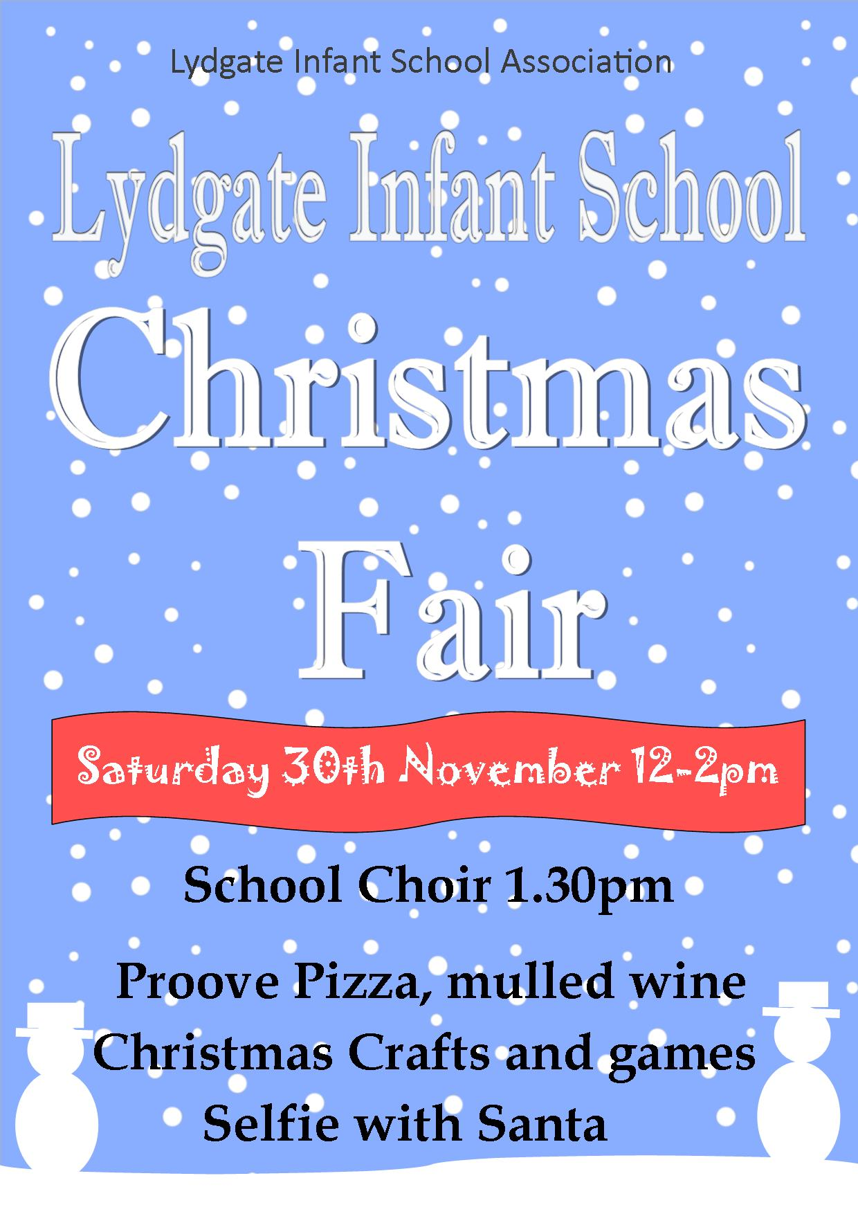 Christmas Fair 2019 poster