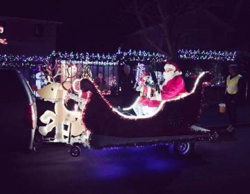 Santa in Crosspool 1
