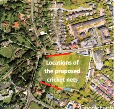 Cricket net 2